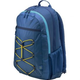 """HP 15.6"""" Active Backpack Navy Blue & Yellow"""