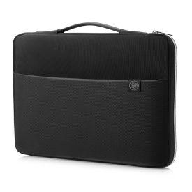 "HP 39.62 Cm (15.6"" ) Carry Sleeve Black/Silver"