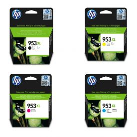 HP 953XL Cyan/Magenta/Yellow/Black Original Ink Cartridge Bundle