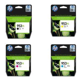 HP 953XL Cyan/Magenta/Yellow/Black Original Ink Cartridge Bundle