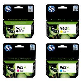 HP 963XL Black/Cyan/Magenta/Yellow Original Ink Cartridge Bundle