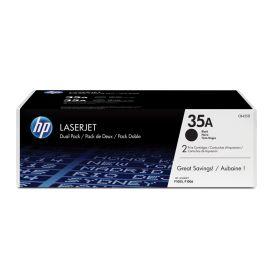 HP 35A Dual Pack Black Original LaserJet Toner Cartridges