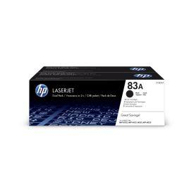 HP 83A 2-pack Black Original LaserJet Toner Cartri
