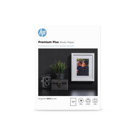 HP Premium Plus Glossy Photo Paper- 20 sheet 13 x 18 cm