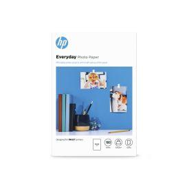 HP Everyday Glossy Photo Paper- 100 sheet 10 x 15 cm