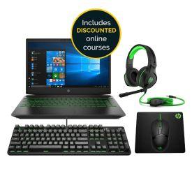 HP Pavilion 15-cx0008ni i7 Gaming Laptop Bundle