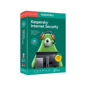 Kaspersky Internet Security 2020 1+1 device 1 year DVD