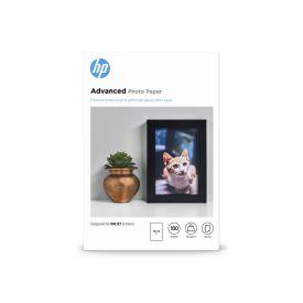 HP Advanced Glossy Photo Paper- 100 sheet 10 x 15 cm